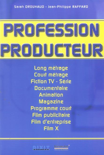 Profession producteur