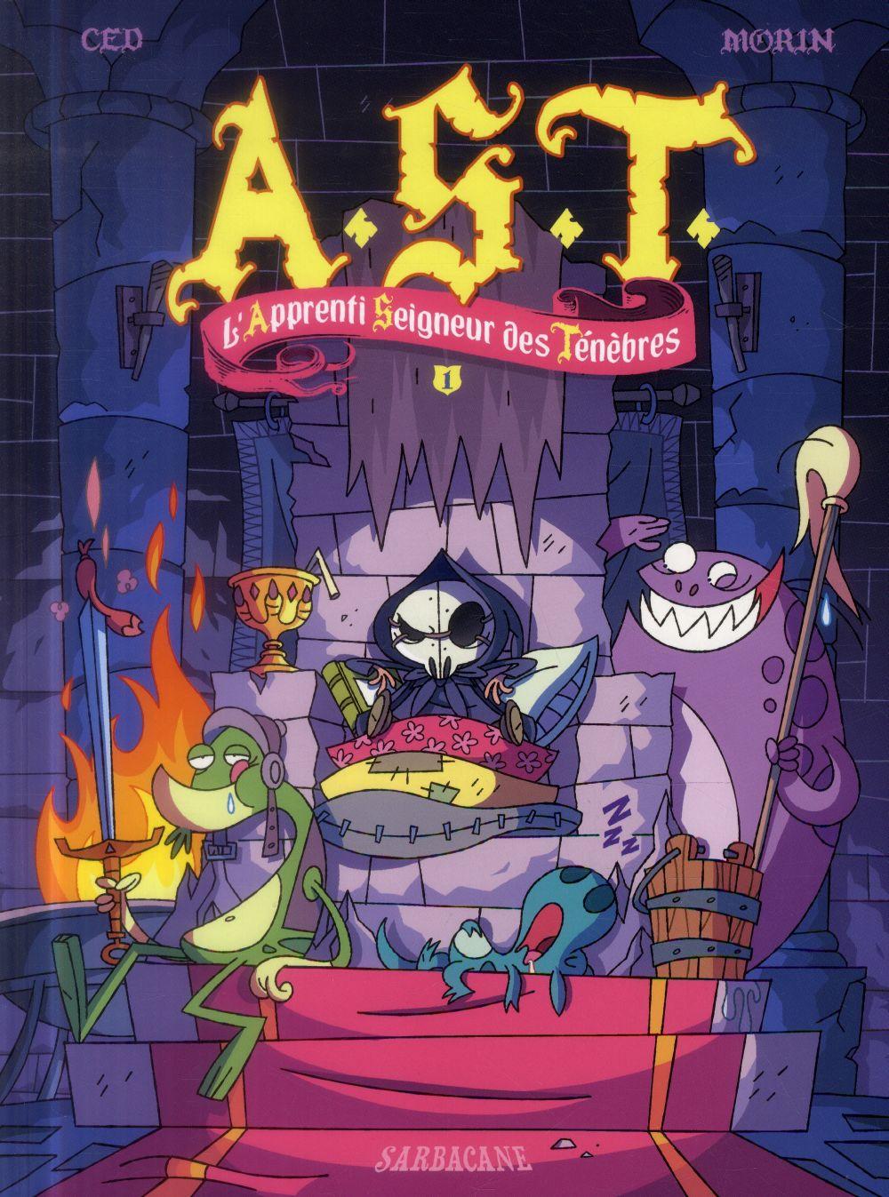A.S.T. ; L'Apprenti Seigneur Des Tenebres T.1 ; Aucun !