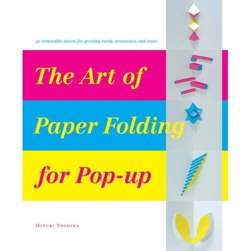 The art of paper folding for pop up