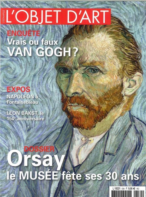 L'objet d'art n 530 les 30 ans du musee d'orsay janvier 2017