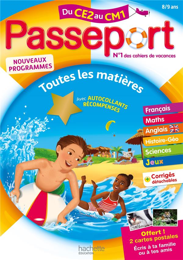 Passeport ; toutes les matières ; du CE2 au CM1