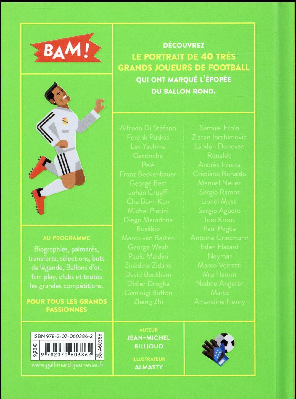 Foot ; 40 joueurs de légende