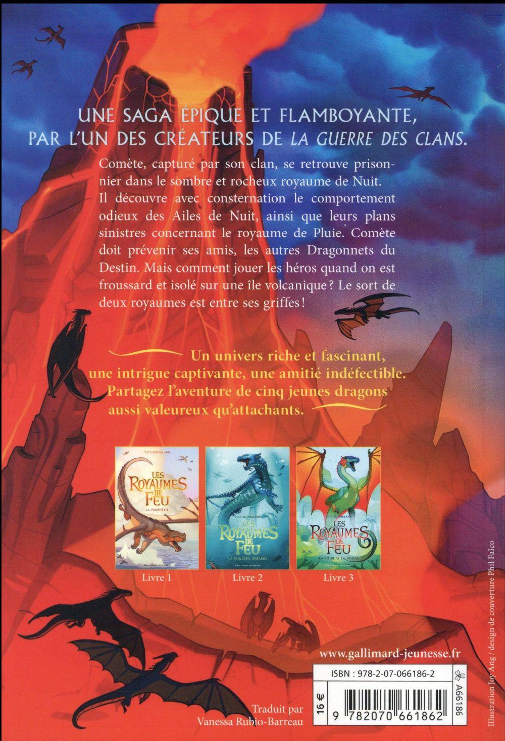 Les royaumes de feu T.4 ; l'île au secret