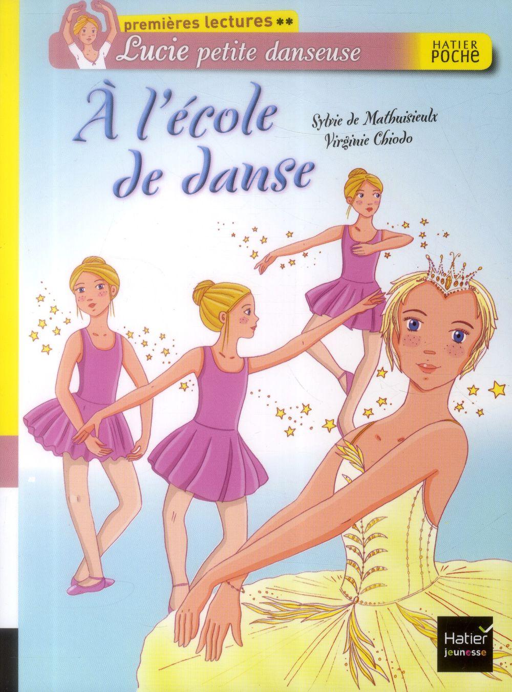 Lucie petite danseuse ; à l'école de danse