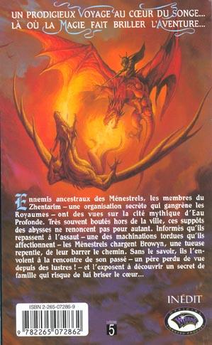 Le chant et l'épée t.2 ; le sang des ménestrels
