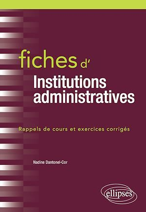 Fiches d'institutions administratives