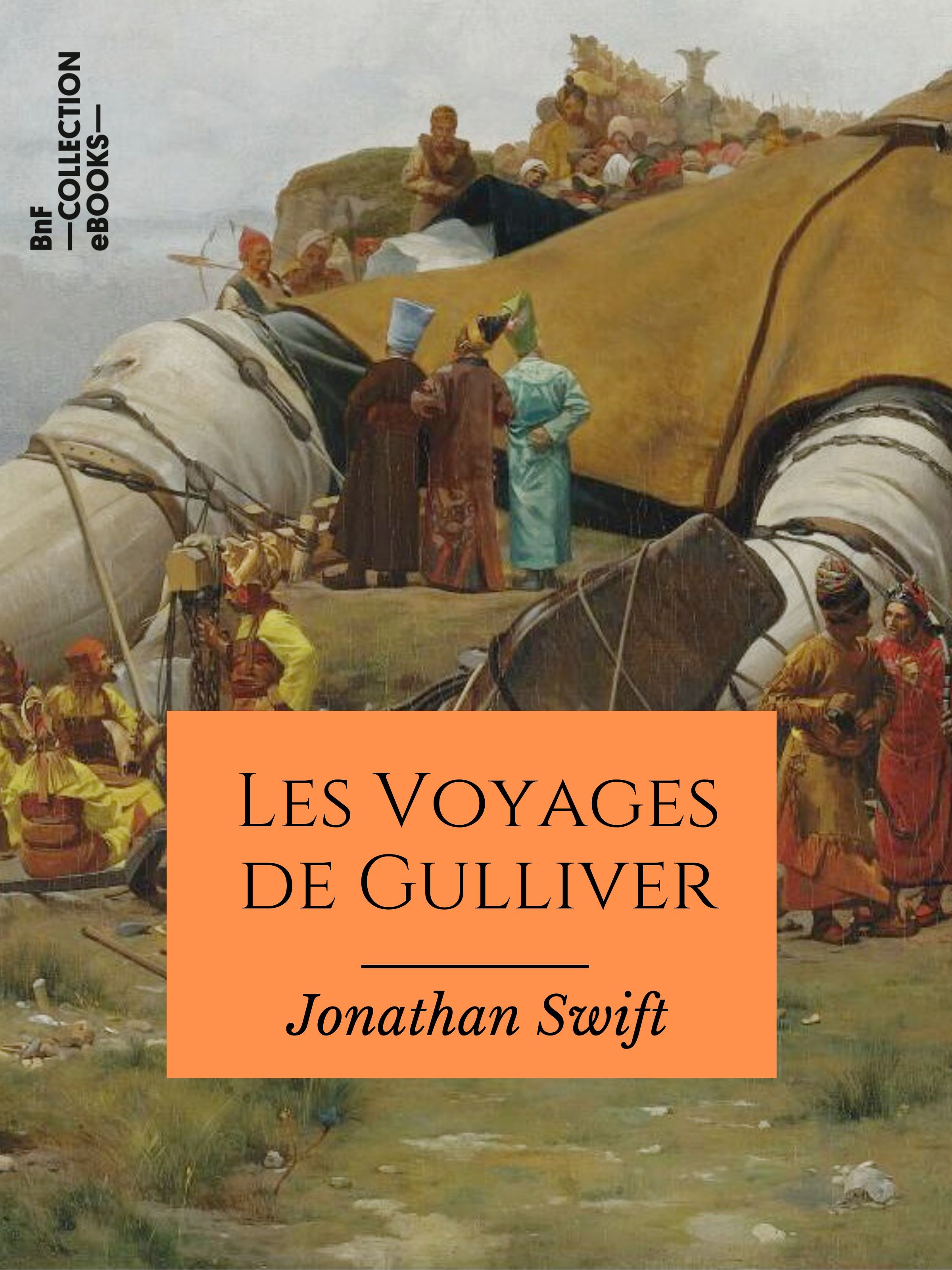 Vente EBooks : Les Voyages de Gulliver  - Jonathan Swift  - l'Abbé Desfontaine