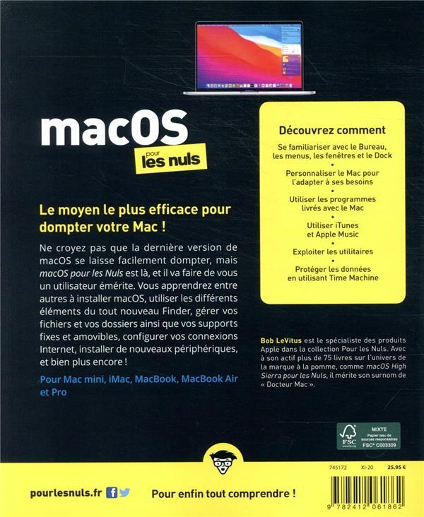 MacOs pour les nuls (édition 2021)
