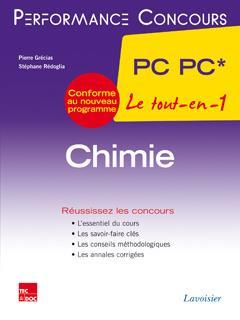 PERFORMANCE CONCOURS ; chimie ; 2e année PC PC