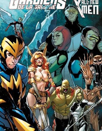 All new X-Men/les Gardiens de la Galaxie ; le procès de Jean Grey
