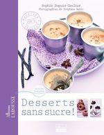 Vente Livre Numérique : Desserts sans sucre  - Sophie Dupuis-Gaulier