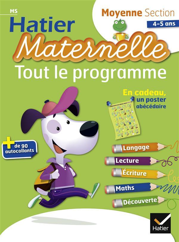 Hatier Maternelle; Moyenne Section ; Tout Le Programme
