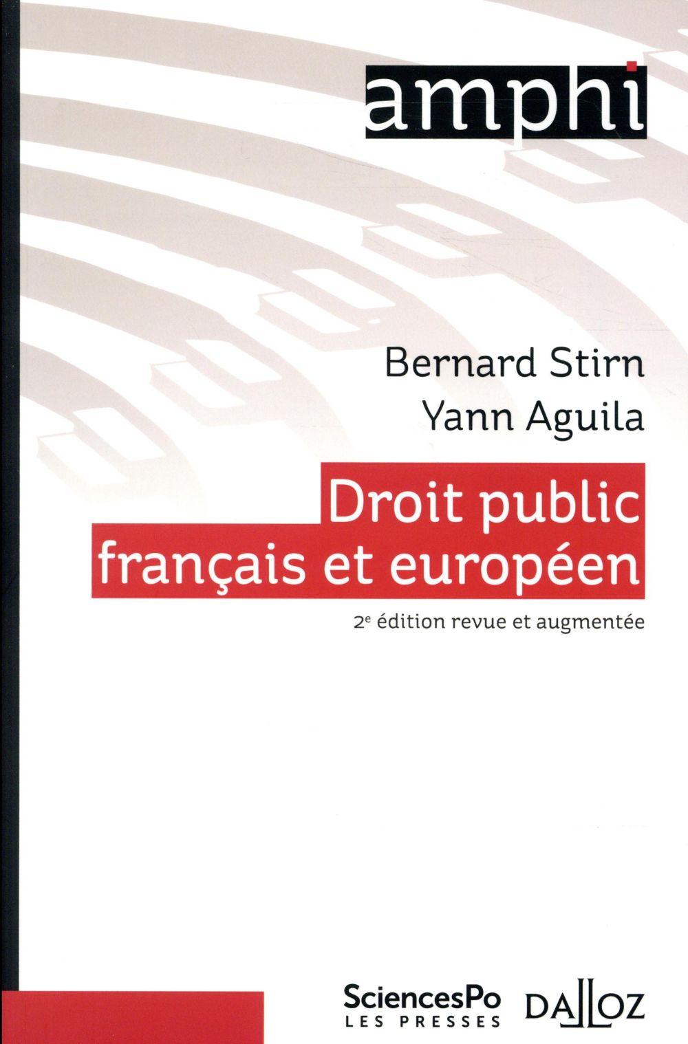 Droit public français et européen (2e édition)