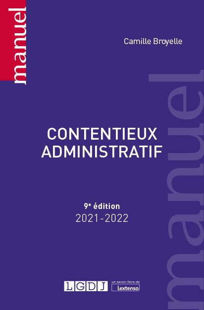 contentieux administratif (édition 2021/2022)