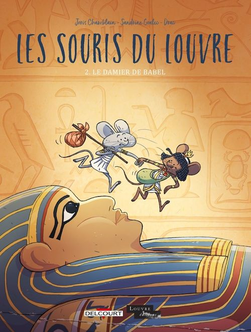 Les souris du Louvre T.2 ; le damier de babel