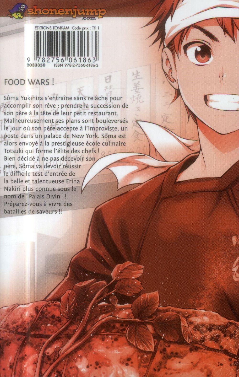 Food wars ! T.1