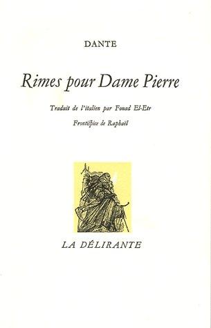 Rimes pour Dame Pierre