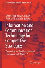 Information and Communication Technology for Competitive Strategies  - Parikshit N. Mahalle - Simon Fong - Shyam Akashe