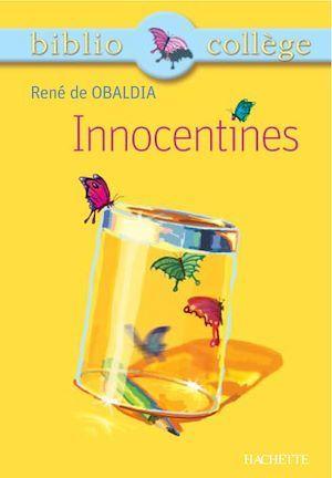 Bibliocollège - Innocentines, René de Obaldia