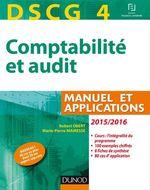 Vente EBooks : DSCG 4 - Comptabilité et audit - 2015/2016 - 6e éd.  - Robert Obert - Marie-Pierre Mairesse