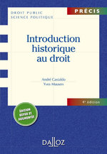 Vente EBooks : Introduction historique au droit  - André Castaldo - Yves Mausen