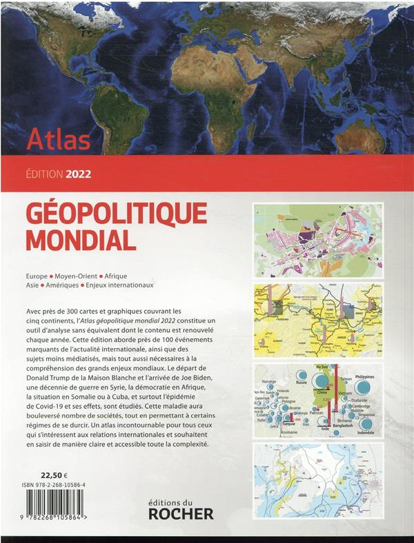 Atlas géopolitique mondial (édition 2022)