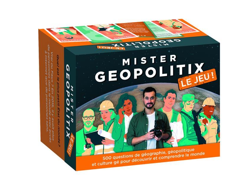 Mister géopolitix ; le jeu