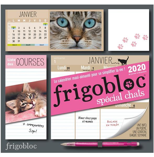 Calendrier De Decembre 2020.Frigobloc Chats Calendrier D Organisation Familiale De