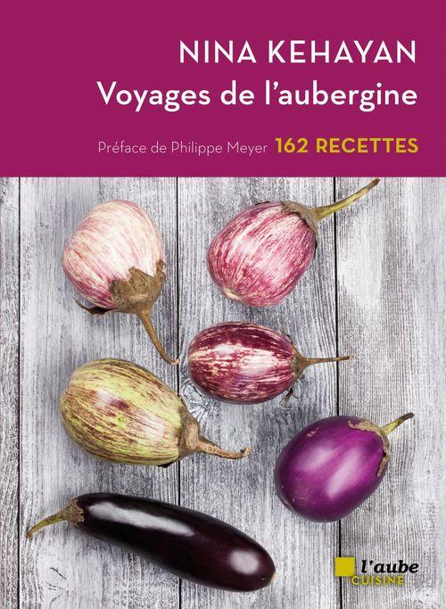 Voyages de l'aubergine ; 162 recettes