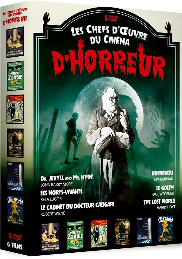 Les Chefs d'oeuvre du cinéma d'horreur | Robertson, John Stuart, réalisateur