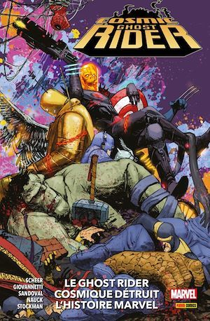 Cosmic Ghost Rider (2019) : Le Ghost Rider Cosmique détruit l'histoire Marvel