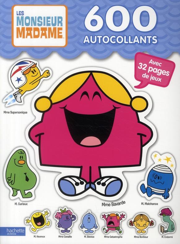 Monsieur Madame ; 600 Autocollants
