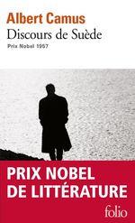 Vente Livre Numérique : Discours de Suède (réception du prix Nobel 1957)  - Albert Camus
