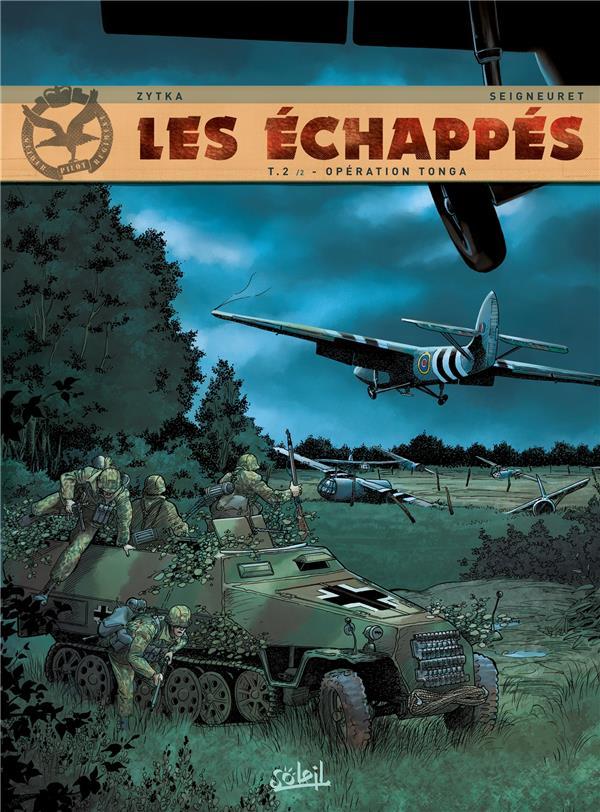 Les échappés t.2 ; opération Tonga t.2
