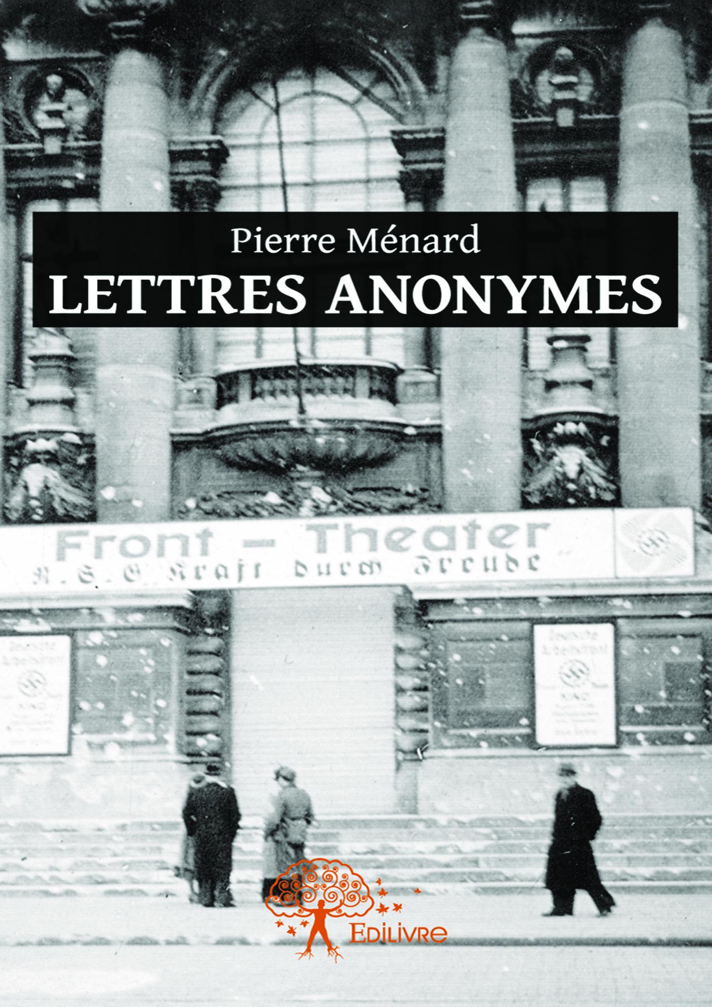 Vente EBooks : Lettres anonymes  - Pierre MENARD