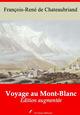 Voyage au Mont-Blanc - suivi d'annexes