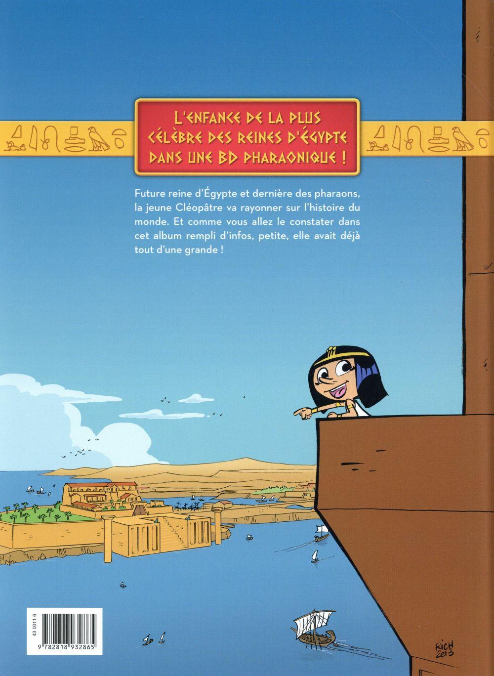 Cléo, la petite pharaonne t.1
