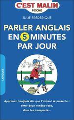Vente EBooks : Parler anglais en 5 minutes par jour, c'est malin  - Julie Frédérique