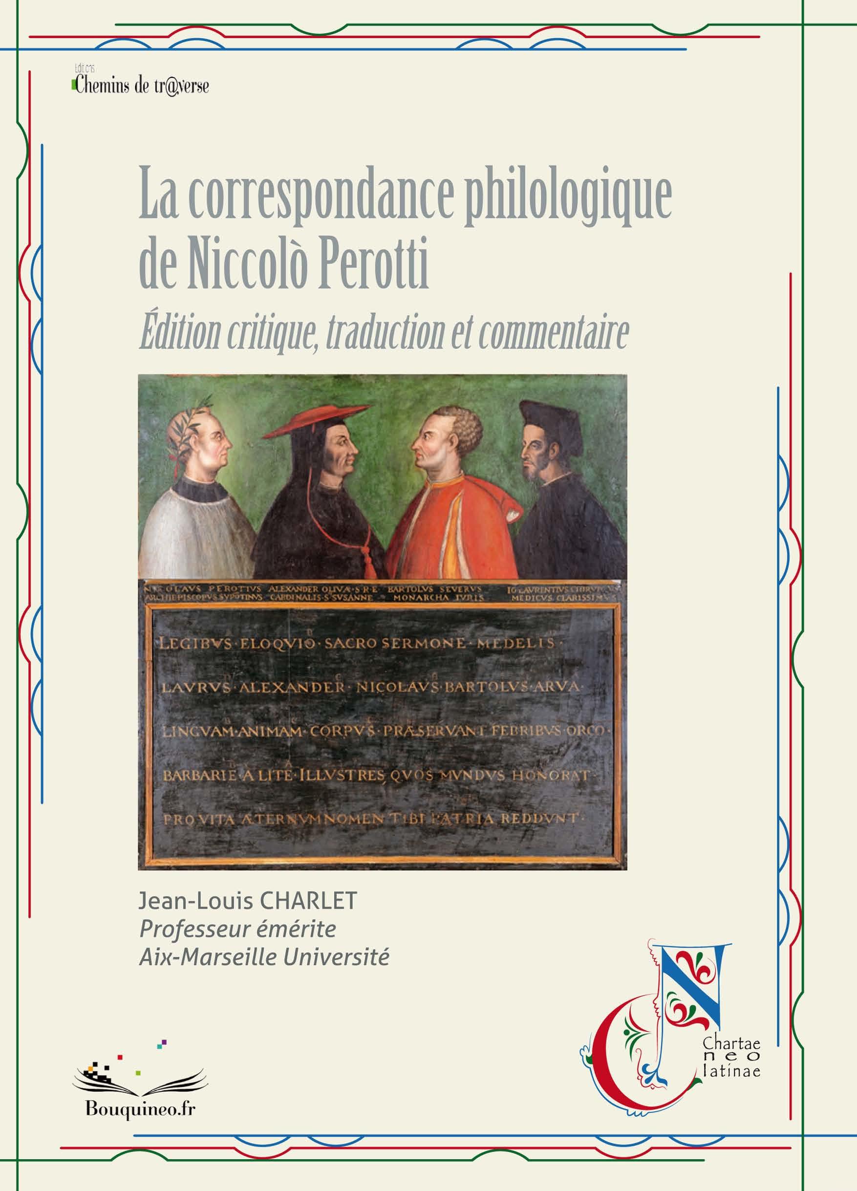 La correspondance philologique