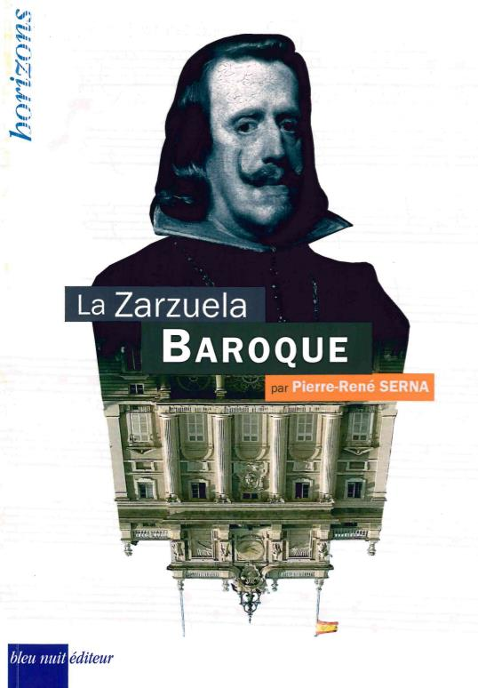 La zarzuela baroque