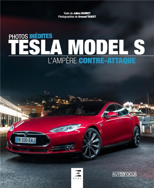 Tesla model S, l'ampère contre-attaque ; photos inédites
