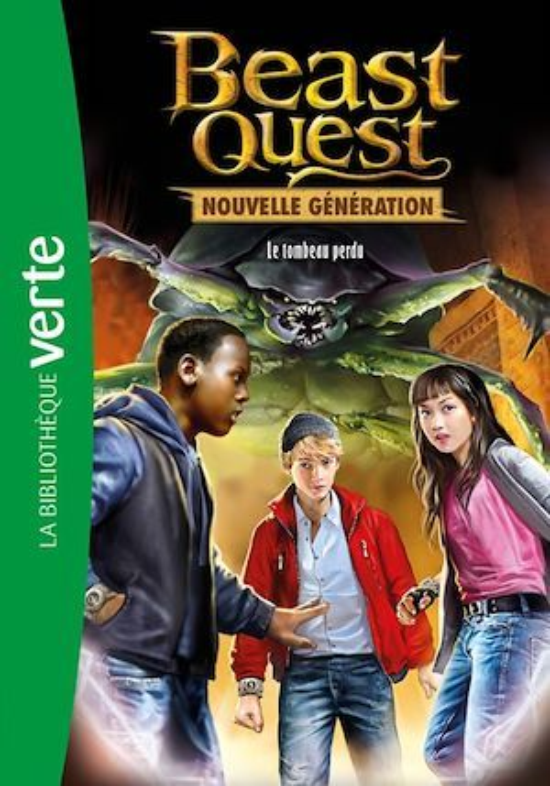 Beast Quest - Nouvelle génération 03 - Le tombeau disparu