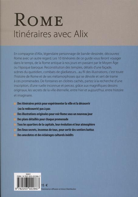 Rome ; itinéraires avec Alix