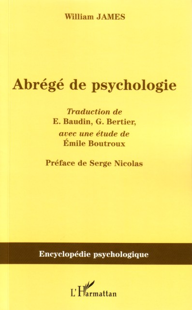 Abrégé de psychologie