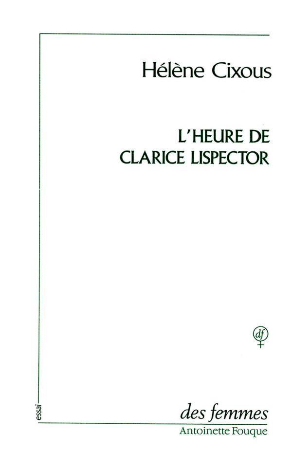 L'heure de Clarice Lispector
