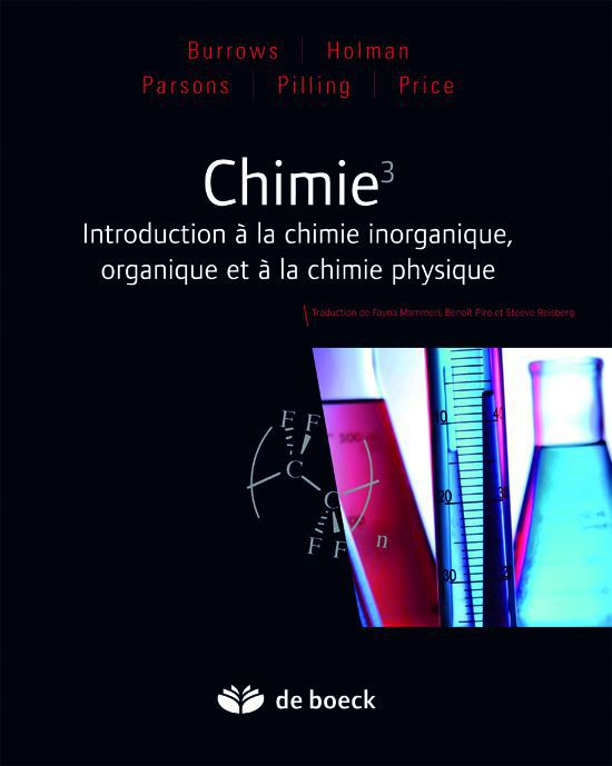 Chimie 3 ; Introduction A La Chimie Inorganique, Organique Et A La Chimie Physique