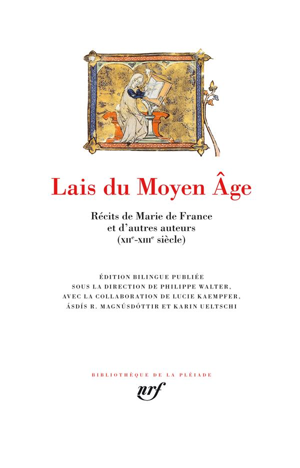 Lais du Moyen Âge ; récits de Marie de France et d'autres auteurs (XIIe-XIIIe siècle)