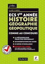 Vente Livre Numérique : ECS 1re année - Histoire Géographie Géopolitique  - Olivier Sarfati - Matthieu Alfré