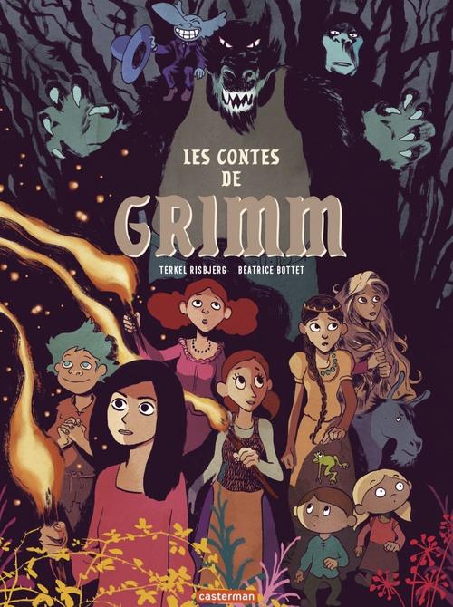 Vente EBooks : Les Contes de Grimm  - Béatrice Bottet