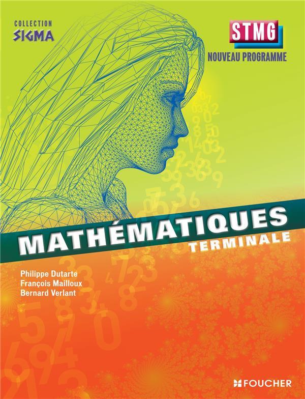 SIGMA ; mathématiques ; terminale STMG